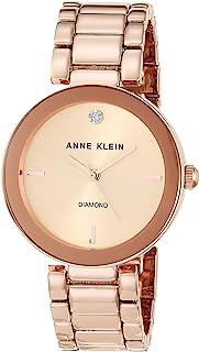 Anne Klein AK / 1362GNRG 女士石英金属合金正装手表