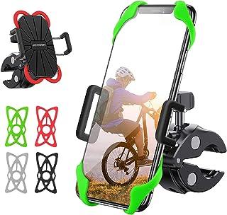 joyroom 自行车手机支架带 360 度旋转,防摇晃可调节自行车手机支架,适用于通用车把,兼容 iPhone 11 Pro Max/11 Pro/XS Max/XR/8,Samsung S20/S20 Plus