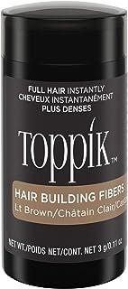 TOPPIK 顶丰发胶纤维 浅棕色 0.11 oz.