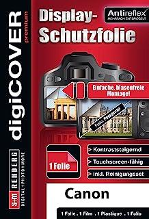 digiCOVER 优质屏幕保护膜 适用于佳能 EOS 1300D 相机