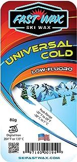 Fast Wax - 通用滑雪蜡 - 低温低碳氟化合物- 美国制造
