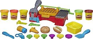 Hasbro 孩之宝 Play-Doh 培乐多 厨房食物烹饪烧烤玩具,5种没有毒性颜色,2盎司/罐(约为56.69克),棕色