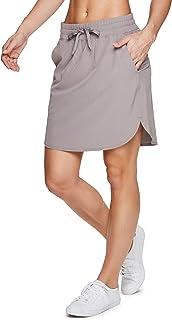 RBX Active 女式高尔夫/网球日常休闲运动短裙带自行车短裤
