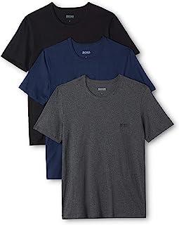 HUGO BOSS 雨果博斯 男士T恤,3件装