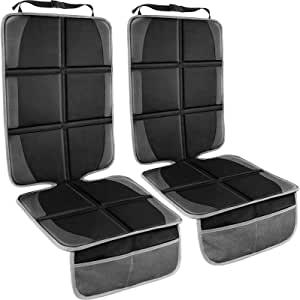 婴儿汽车座椅保护罩 Black&Grey 2Pack 大