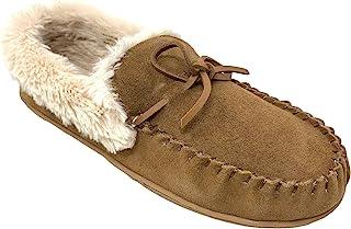 Clarks 女式人造皮衬里软帮鞋室内户外拖鞋