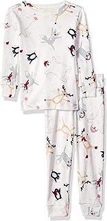 Gymboree 女婴 2 件套紧身长袖睡裤睡衣套装