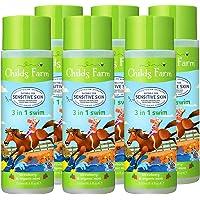 Childs Farm 3-in-1 Swim洗发沐浴露,草莓和薄荷,250毫升,6件