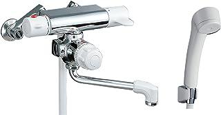 LIXIL 骊住 INAX 浴室用 壁挂式 定量止水 带恒温器淋浴喷头 带倒止阀 防霉软管 出水口长170毫米 RBF-107