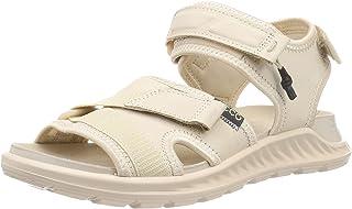 ECCO 爱步 Exowrap 女士平底凉鞋