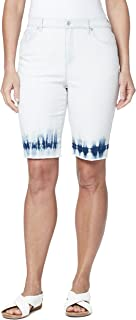 Gloria Vanderbilt 女式 Amanda 高腰百慕大短裤