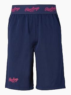 Rawlings 棒球用 比赛 短裤 AOP10F04 藏青色/品红色 尺寸 2XO