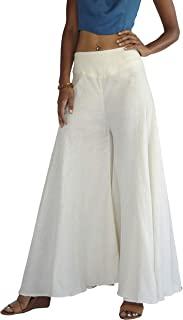 Tropic Bliss 女式阔腿*棉阔腿裤,休闲波西米亚风格裙裤