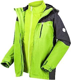 Regatta 儿童 Hydrate V 3 合 1 防水透气高反射接缝网眼衬里夹克