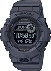 CASIO Herren Digital Quarz Uhr mit Resin Armband