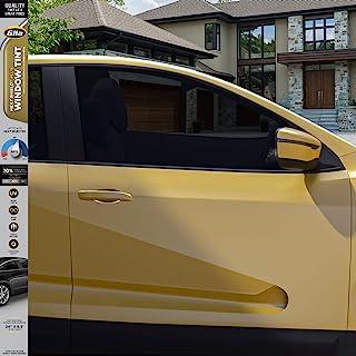 Gila® HEAT SHIELD PLUS™ 20%VLT 汽车车窗膜,DIY额外的热控制,眩光控制,2英尺 x 6.5英尺(24英寸 x 78英寸,约60.96cm x 1.98m)