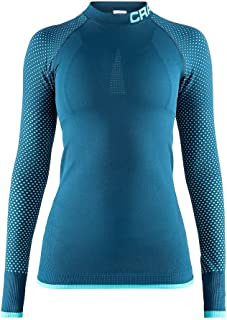 Craft 女式保暖强度跑步训练健身锻炼户外紧身打底长袖衫