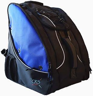 CRS Cross 滑板包 – 背包可转换为带轮子的滚动袋。溜冰袋适用于花样滑冰、溜冰、四轮滑冰、溜冰和直排滑冰