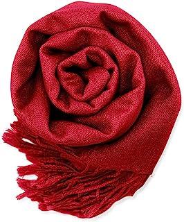 GEARONIC TM 女式柔软羊绒围巾 冬季披肩围巾 女式时尚纯色