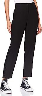 Armani Exchange 女士绉纱带亮片长裤