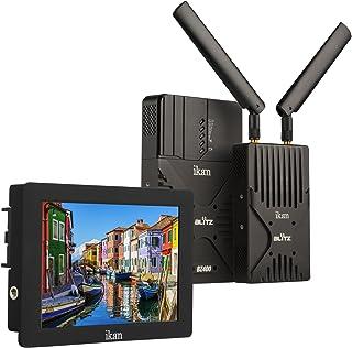 Ikan BZ400-DH7-KIT Blitz 400 无线视频系统和显示器套件,黑色BZ400-S7H-KIT SH7 黑色