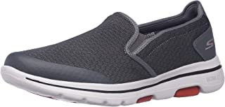 Skechers Men's GO Walk 5-APPRIZE Slip On Trainers, Textile/Synthetic/Black Trim BBK, 11.5 (46 EU) Go Walk 5 Apprize