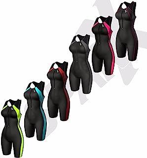Sparx 女式铁人三项套装短款赛车游泳跑步