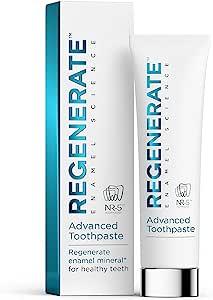 Regenerate 高级牙膏-经过证明-矿化牙釉质,打造坚固优质的牙齿,75毫升,105克