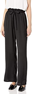A. Byer 女式青少年宽腿松紧腰舒适长裤