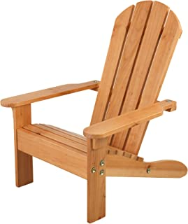 KidKraft 83 Adirondack 木制户外休闲椅,儿童花园家具-蜂蜜