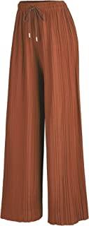 由 Johnny MBJ 女士打褶阔腿阔腿裤带松紧带