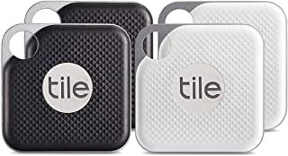 Tile Pro 带替换电池 - 4 个 (2 x 黑, 2 x 白) - NEW