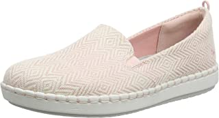 Clarks 女士 Step Glow 一脚蹬运动鞋