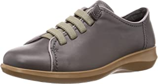 Achilles SORBO 步行鞋 日本产 真皮 减震 弯曲性 走路舒适 橡胶系带规格 懒人鞋 女士 3E SRL 0910