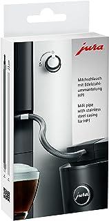 Jura 优瑞 24112 牛奶软管 带不锈钢护套 HP1 银色