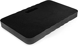 HOOPLE 高级厚跪垫,大号,保护泡沫垫用于膝盖,园艺工作,婴儿浴,瑜伽锻炼,自动修复和其他工作。多种用途(黑色垫)