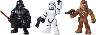 星球大戰銀河英雄*戰隊 3 件裝 - 沖鋒隊、達斯·維德和楚巴卡 10 英寸可動公仔,3 歲及以上兒童