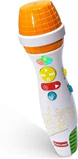 Kidzlane 儿童卡拉 OK 麦克风,蓝牙,语音转换器和 10 个内置儿童节奏