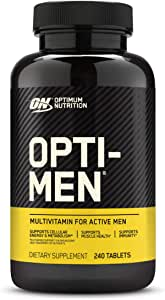 Optimum Nutrition 欧普特蒙 Opti-Men男士每日多种维生素片,含维生素C,D,E,B12,240片