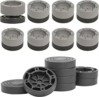 8 件套减震和降噪洗衣机支撑,防震和防步垫,适用于冰箱、床、洗衣机和烘干机,降噪橡胶洗衣机脚垫,用于提高高度