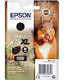 EPSON 爱普生 378XL Squirrel打印机墨盒,黑色,Amazon 快速补充服务