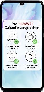 Huawei 華為 P30 lite 雙卡智能手機套裝(6.15英寸,128GB ROM,4GB RAM,Android 9.0),黑色 + Micro SD 16GB存儲卡[亞馬遜專版/德國版]
