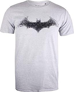 DC Comics 男士蝙蝠侠蝙蝠标志 T 恤
