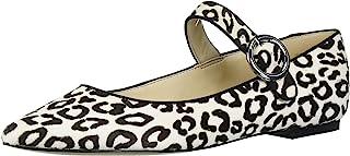 NINE WEST 女士时尚玛丽珍平底鞋