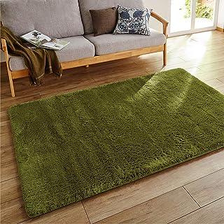柔软蓬松 低回弹 高回弹双层 毛绒地毯