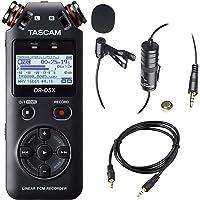 TASCAM DR-05便携式手持数字音频录像机与豪华配件套餐 黑色