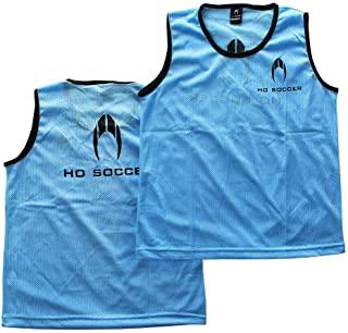 HO 足球 Petos 团队(12 件)蓝色足球训练,中性儿童,蓝色,XS