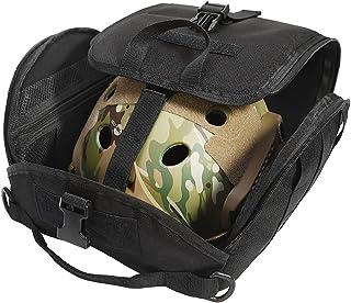 FARMSOLDIER 战术头盔袋,Molle 头盔包,轻质软垫储物袋,用于携带气枪快速摩托车 MICH 头盔