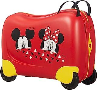 SAMSONITE 新秀丽 Dream Rider  - 手提箱,25升  -  1.8 千克儿童行李箱,50厘米 Mickey/Minnie Peeking 50 cm
