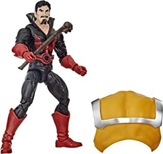 Hasbro 漫威传奇系列死侍系列 6 英寸(约 15.2 厘米)黑色汤姆·卡西迪可动公仔玩具高级设计和1 个配件